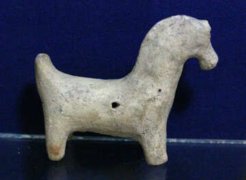 Ancient figurine horse №43448