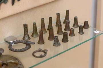 Vintage horse bells №43901