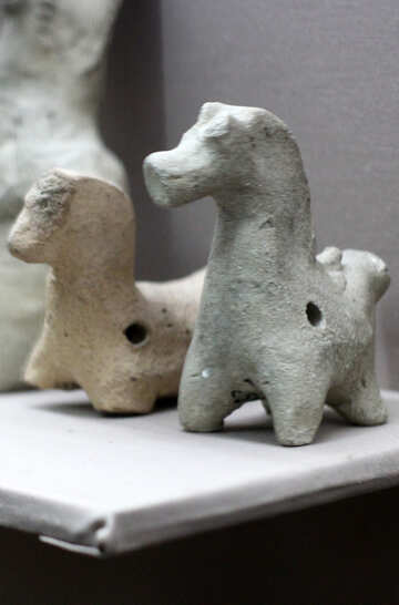 Of ancient toy horse Whistle №43606
