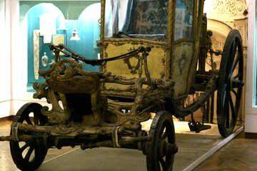 Der alte Pferdetransport №43654