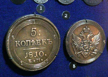 Coin 5 cents 1810 №43450