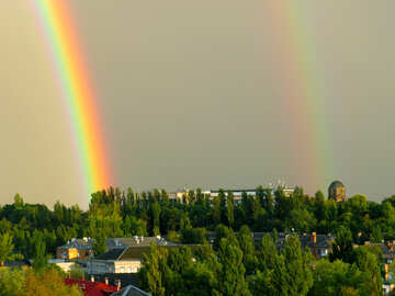 Photo Double Rainbow №43244