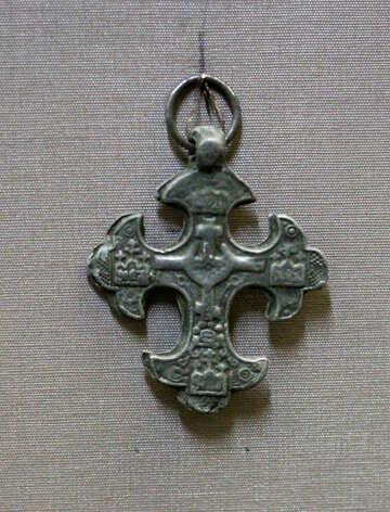 Antique crucifix №43623