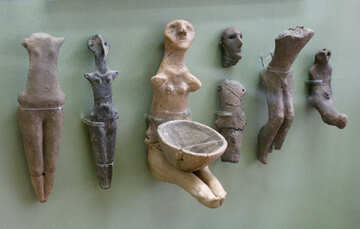 Anthropomorphic Figurines №43832