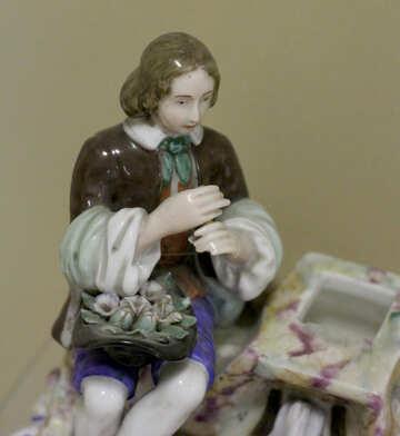 Figure of a shepherd №43264