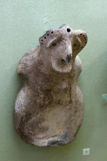 Primitive statue №43826