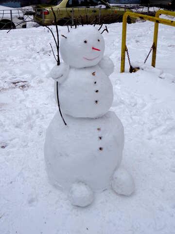 Детская снежная баба №43053