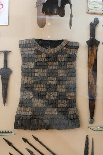 Ancient swords and chain mail №43895