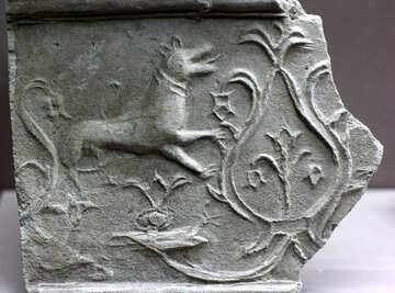 Ancient pattern on ceramics №43602