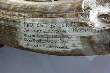 Ancient inscription №43772