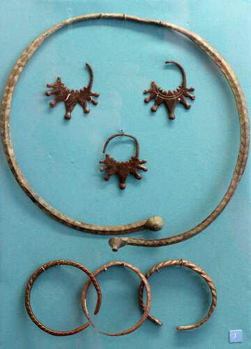 Vintage jewelry bronze №43985