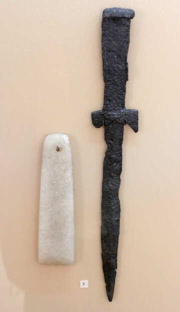 Antique sword №43930