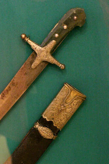 Turkish sword 17th century №43374