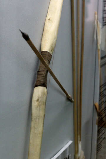 Ancient weapon bow  №43774