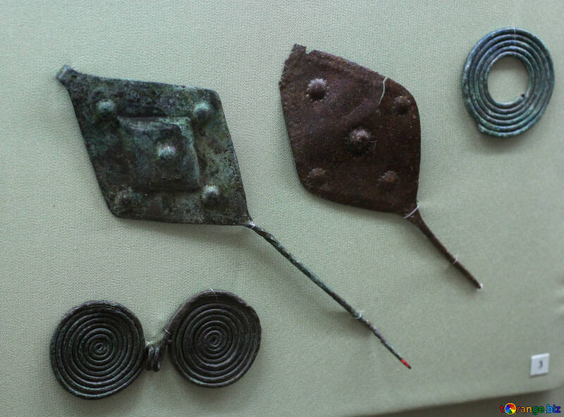 Ancient hairpin 8th century BC №43787