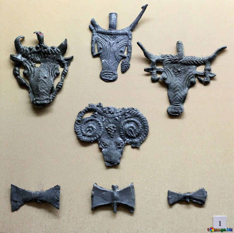 Bronze silhouettes of animals №43732