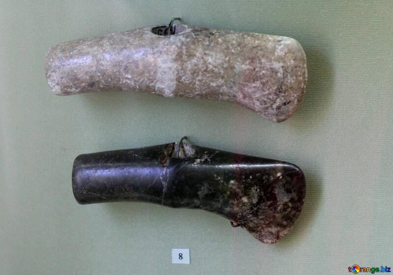 Martial stone axes №43816
