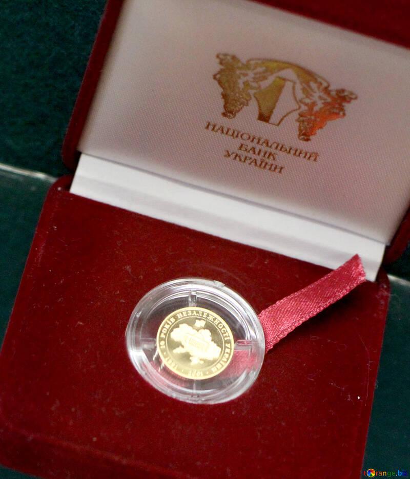 Ukrainian gold coin №43510