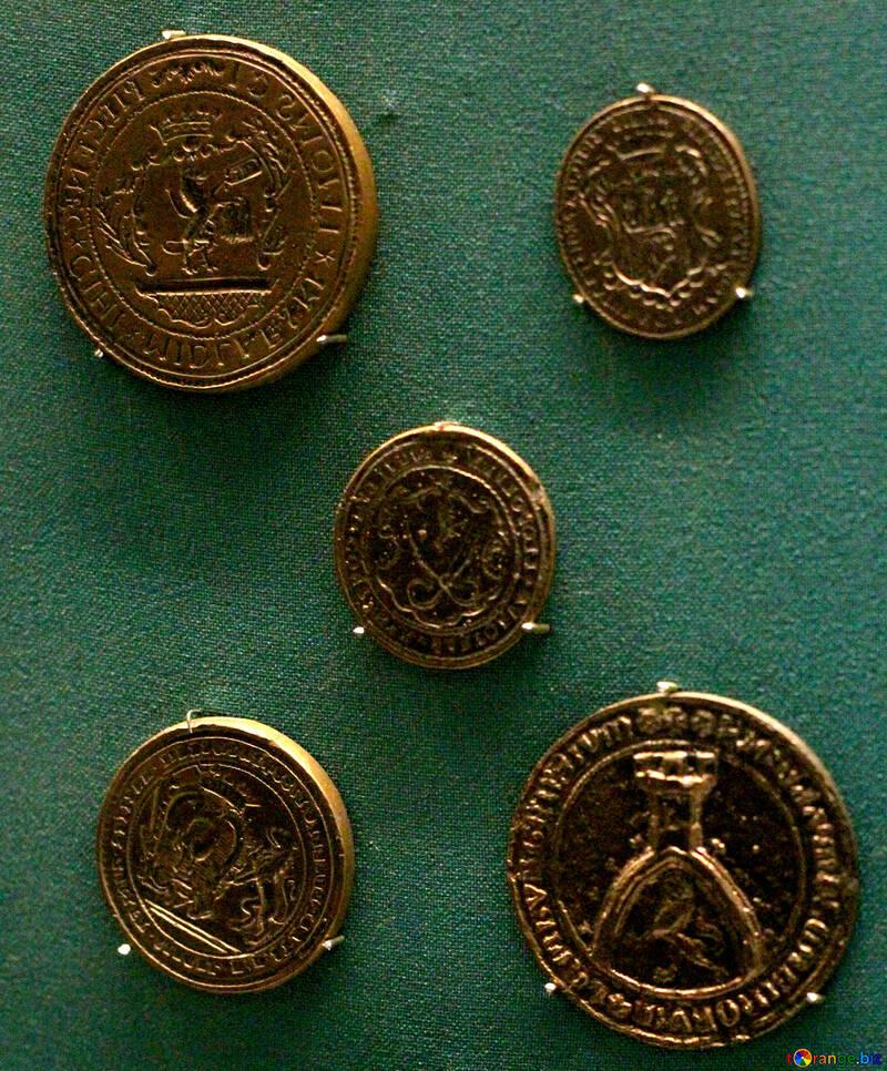 Vintage Polish gold coins №43669