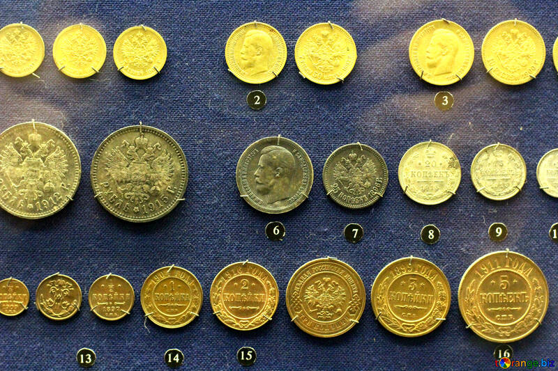 Gold coins of imperial Russia №43470