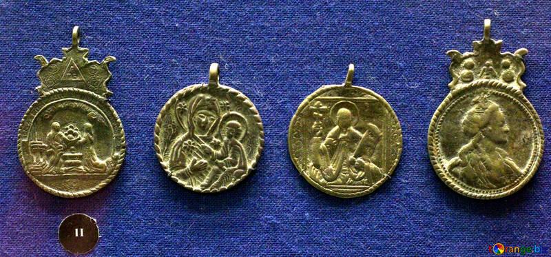 Antique lockets №43484