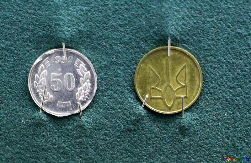 Trial Ukrainian coins №43516