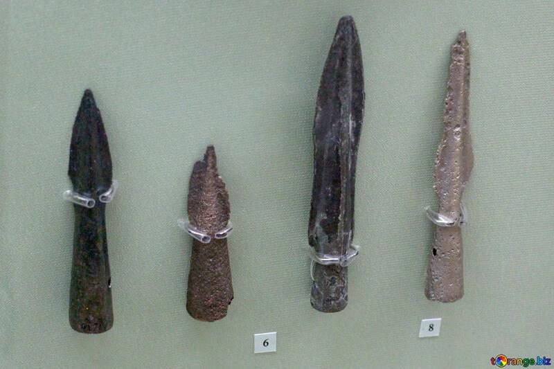 Bronze tips mines 9th century BC №43784