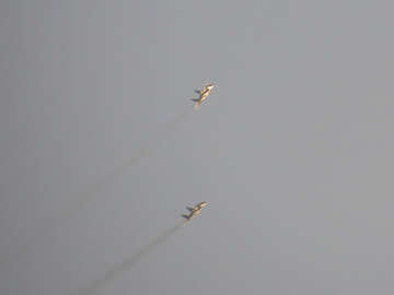 Military aircraft in the sky №44497