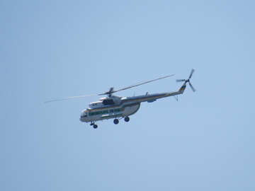 Military helicopter №44506