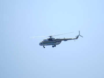 Military helicopter №44507