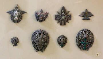 Vintage badges №44216