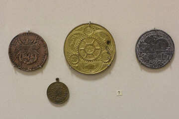 Vintage distinctive badges №44282
