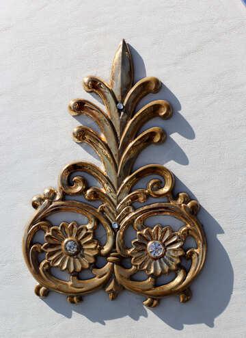 Gold decoration №44343