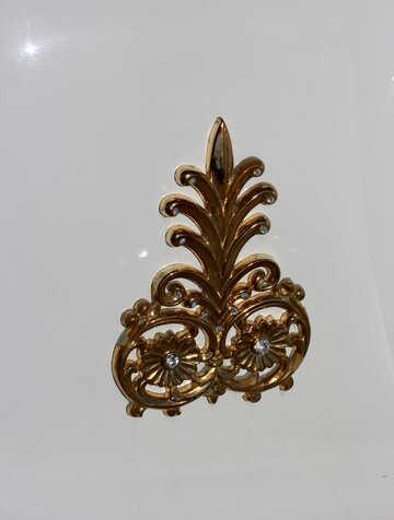 Gold decoration №44348