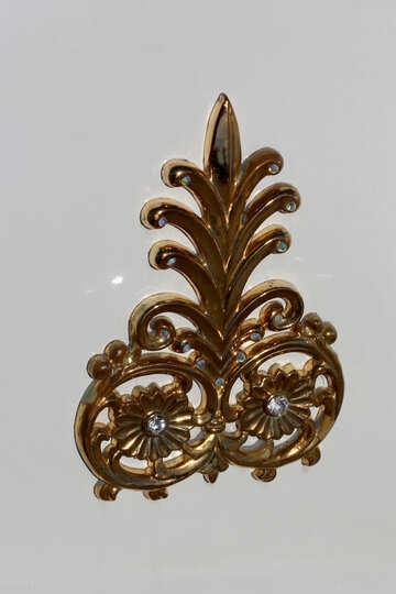 Gold decoration №44349