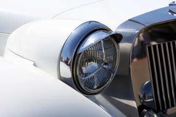 Retro car headlight №44372