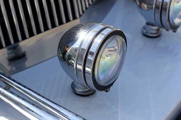 Retro car headlight №44375