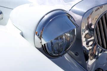 Retro car headlight №44411