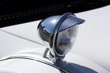 Retro car headlight №44413