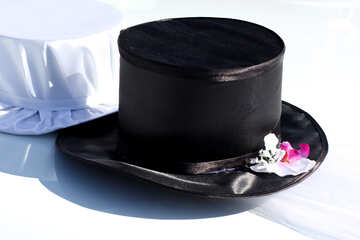 Wedding hats by car №44436