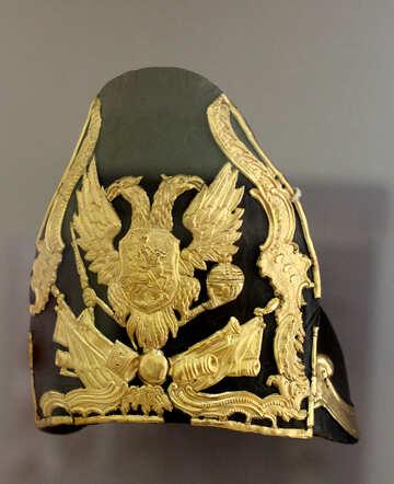 Der ehemalige Militär Hut №44175