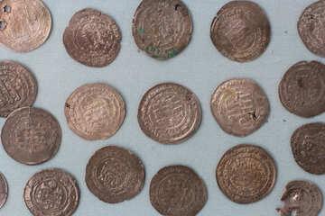 Arab silver coins dirhams  №44072