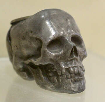 Ashtray in the form of a skull №44302