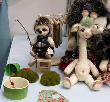 Children`s stuffed toys №44546