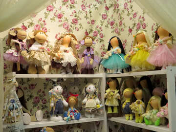 Dolls tilde and monkey №44544