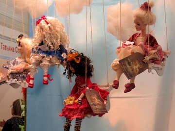 Fairy on a swing №44550