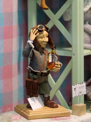 Figurine pilot №44588