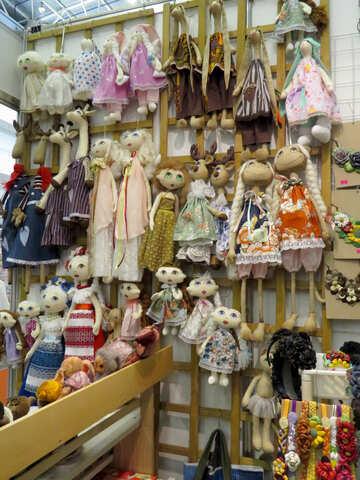Souvenir dolls №44570