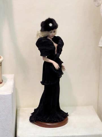 Stylish doll №44573