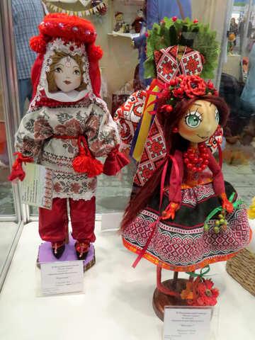 Folk dolls №44531